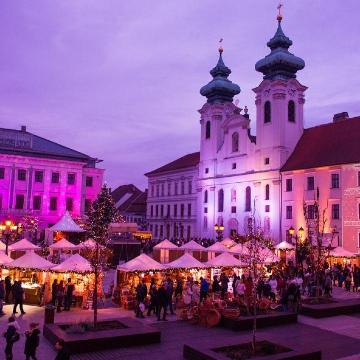 Advent in Győr